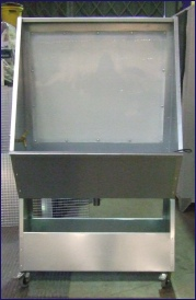 Screen Washout Booths